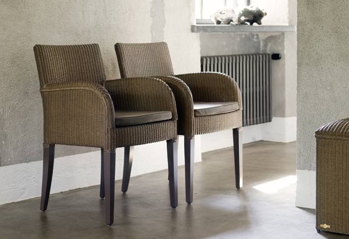 Modern classic lounge chair - Lloyd Loom St 252 Hle Sessel Loom Classic Design
